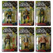 Bonecos Tartarugas Ninja Filme Fora Das Sombras Articulados