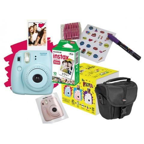 Kit Fujifilm C / Instax Mini 8 + Estojo + Filme + Acessórios