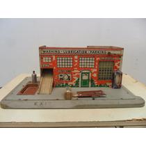 Posto De Gasolina Keystone Lav. Lubrific. Made In Usa 1940