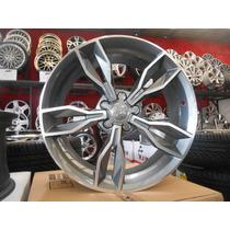 04 Rodas Audi Rs3 2015 Aro 19 X 8 5x112 Et45 Replicas Novas