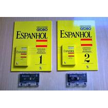 Curso Idiomas Globo Espanhol 1 Ao 8 Com Fita K-7 19,90 Cada