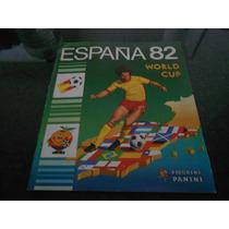 Álbum Copa Do Mundo Espanha 82 - Completo - Original Panini