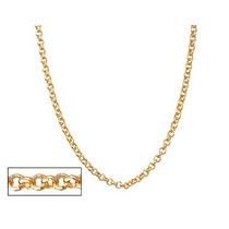 Corrente Fio Elo Portugues. 50 Cm F/ Ouro Rommanel 530610
