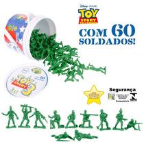Balde Com 60 Soldados Filme Toy Story Disney Original Toyng