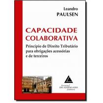 Capacidade Colaborativa: Princípios De Direito Tributário