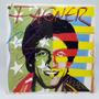 Lp Fagner 1982 Qualquer Música Disco De Vinil Encarte Poster Original