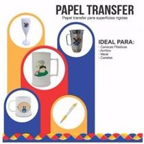 Papel Transfer Laser Para Caneca De Acrílico De Chopp