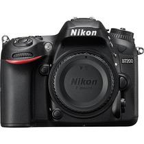 Câmera Nikon D7200 - 24.2mp. - Só Corpo + Nota Fiscal