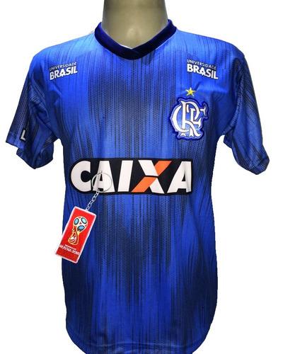 Camisa Flamengo Azul Nova 2019 Lançamento Mengão 647cdd6de1505
