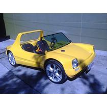 Buggy Vw 1600 2 Lugares Amarelo. Inteiro. Lindo