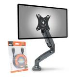 Suporte Para Monitor Articulado Ajuste Altura F80n Elg +hdmi
