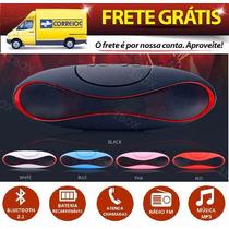 Caixa Som Portatil Beats Bluetooth 20w Iphone Ipad Sd Usb Fm