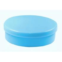 Latinha Plástica Mint To Be Azul Bebê C/ 5 Melhor Preço