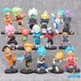 Kit 16 Dragon Ball Super Goku Blue Jiren Kefla Zamasu A267