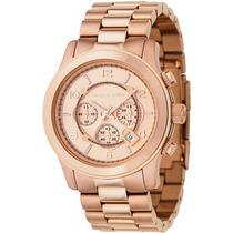 Relógio Mk Rose Oversized Unissex Promoção Preço De Custo