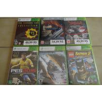 Lote Com 6 Jogos Xbox 360 - Originais E Lacrados