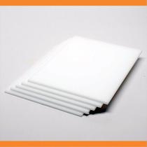 Chapa Ou Placa De Ps Branco Leitoso Luminária - Sob Medida