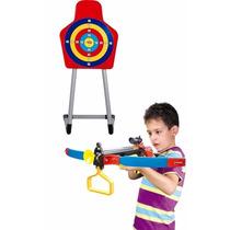 Brinquedo Conjunto Infra-vermelho Super Alvo Arco E Flecha