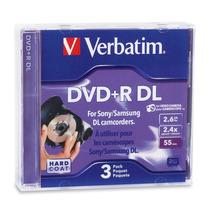Verbatim/smartdisk Mini Dvd+r Dl 95313 Verbatim 2.6g 3pk