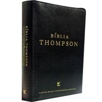 Bíblia De Estudo Thompson Luxo Ed. Almeida Contemporânea