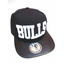 Boné Chicago Bulls Nba Aba Reta Original