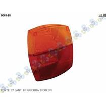 Lente P/ Lanterna Traseira Carreta Guerra Bicolor