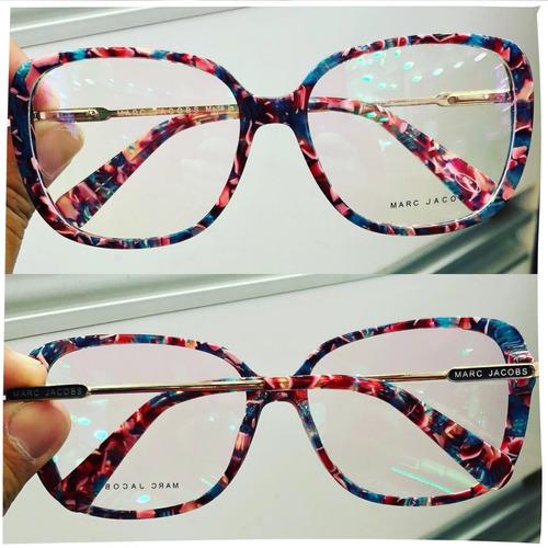 Armação Oculos Grau Feminino Mj5 Importado Acetato Original   Mostra ... 7017954e34
