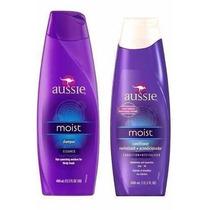 Kit Shampoo E Condicionador Aussie Moist Original