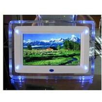 Porta Retrato Digital 7 Pol Com Controle Remoto Mp3 Mp4