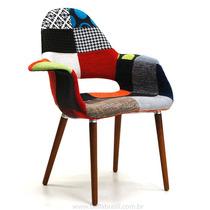Cadeira Veneza Patchwork Wood