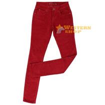 Calça Jeans Feminina New Fit Skinny Carmim Com Elastano - Wr