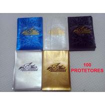 Sleeves Shields Protetor Yugioh Konami 100und Alta Qualidade