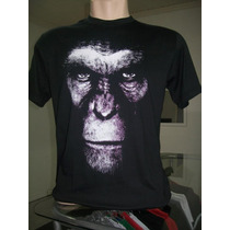 Camiseta Planeta Dos Macacos Caesar Filmes Cinema Tv
