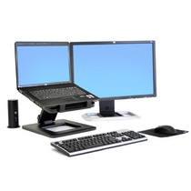 Hp Dual Hinge Notebook Stand Aw661aa Suporte Articulado Lcd