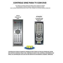 Controle Simz Para Tv Com Dvd Fbt 65