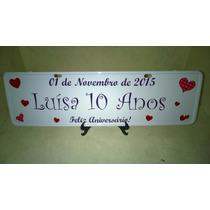 Placa Personalizada, Lembrancinhas, Aniversario Infantil