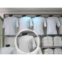 Camiseta Branca 100%algodão/p/sublimação/frete Gratis