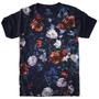 Camiseta Divertida - Flores