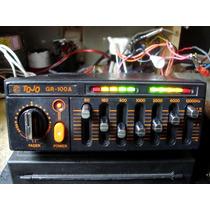 Amplificador Equalizador Tojo Gr100 Carro Antigo Fusca Vw Gm