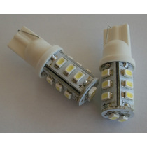Kit 2 Lampada Led Automotiva Pingo 14 Leds Cor Branco