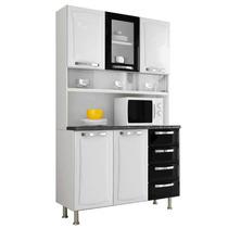 Armário De Cozinha Itanew Itatiaia I31vg4-120 Preto