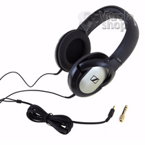 Fone De Ouvido Sennheiser Hd201 Headphones Nota Garantia