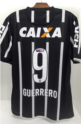 62de059ccbcbb Camisa Corinthians Ii 2014 Nº 9 Paolo Guerrero. R$ 499