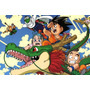 Painel Decorativo Festa Infantil Dragon Ball Goku (mod5)