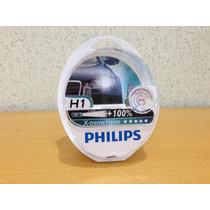 Lampada Philips X-treme Vision H1 55w 100% + Luz