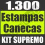 Estampas Canecas Corel Artes Sublimação Vetor Prensa - 100%