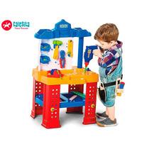 Ferramentas Bancada Brinquedo Oficina Infantil Calesita 450