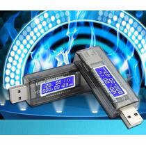 Detector Medidor Energia Voltímetro Amperímetro Tester Usb