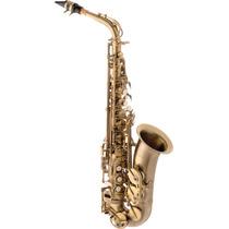 Saxofone Alto Em Mib Envelhecido Eagle Sa500vg Liquida
