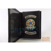 Carteira Porta Cartão Agente D Escolta Armada Segurança P06p